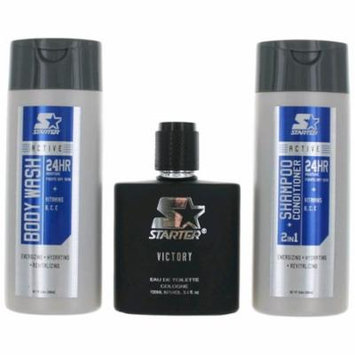 Victory Cologne by Starter, 3 Piece Gift Set for Men
