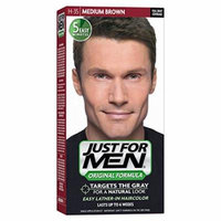 6 Pack - JUST FOR MEN Hair Color Medium Brown 35, 1 Each