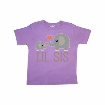 Little Sister Elephant Toddler T-Shirt