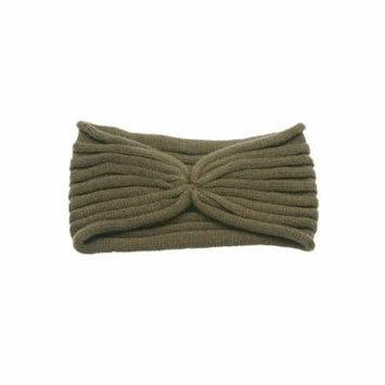 Womens Knitted Ribbed Fashion Headband