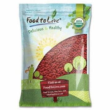 Food To Live ® Organic Goji Berries (28 Pounds)