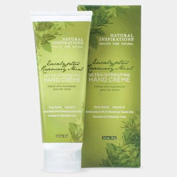 Natural Inspirations Boxed Hand Creme 3.2 Oz. - Eucalyptus Rosemary Mint