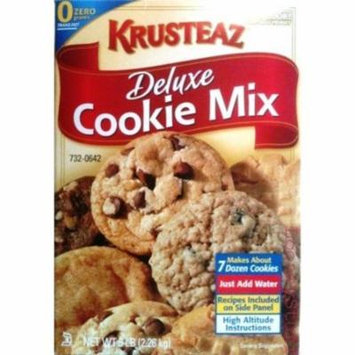 6 PACKS : Krusteaz Deluxe Cookie Mix, 5-Pounds