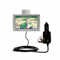 Intelligent Dual Purpose DC Vehicle and AC Home Wall Charger suitable for the Garmin Nuvi 780 - Two critical functions, one unique charger - Uses Goma