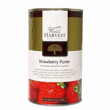 Vintner's Harvest Fruit Puree-Strawberry 49 oz.