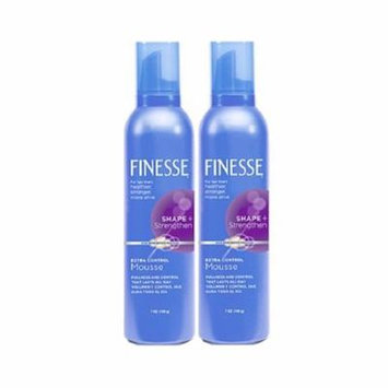 2 Pack - Finesse Shape + Strenghten Extra Control Mousse 7 oz Each