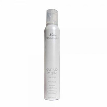 White Sands Curl Up in Silk Firm Hold Mousse 7 oz