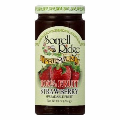 Sorrell Ridge 100% Fruit Strawberry Conserves, 10 OZ (Pack of 6)