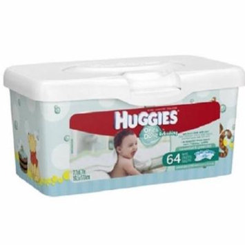 Huggies One and Done Baby Wipe Tub Cucumber/Green Tea Scent-Pack of 64