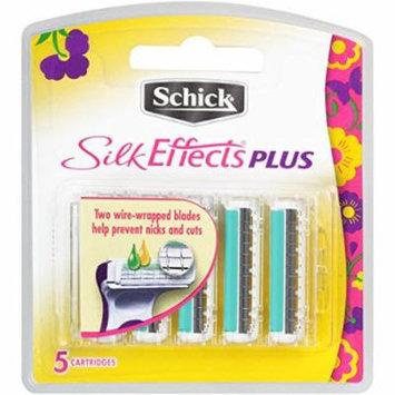 3 Pack - Schick Silk Effects Plus Razor Blade Refills for Women - 5 Count New