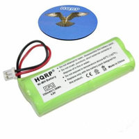 HQRP Battery compatible with Dogtra 1900 Series 1900-NCP 1902-NCP Remote Controlled Dog Training Collar Receiver plus Coaster