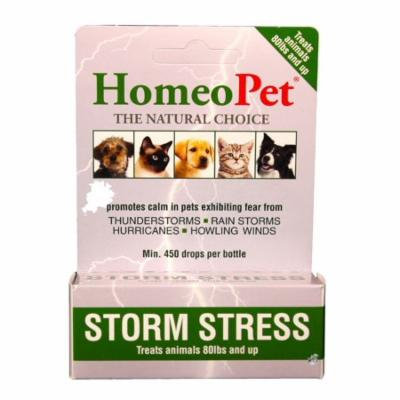 HomeoPet Storm Stress for Dogs [80+ lbs] (15 mL)