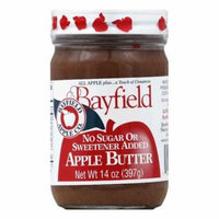 Bayfield Sugar Free Apple Butter, 14 OZ (Pack of 6)