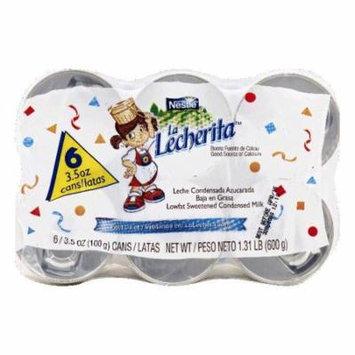 La Lecherita Lowfat Sweetened Condensed Milk, 6 ea (Pack of 6)