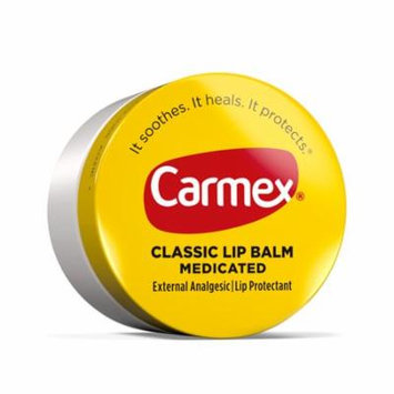 24 Pack Carmex Original Lip Balm Jars For Dry Chapped Lips 0.25 Oz