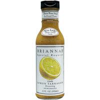 Briannas Lemon Tarragon Dressing, 12 OZ (Pack of 6)