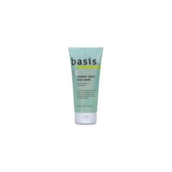 5 Pack - Basis Face Wash Cleaner Clean 6 oz Each