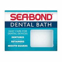 3 Pack - Sea-Bond Denture Bath, (Colors May Vary)