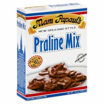 Mam Papauls New Orleans Style Praline Mix, 10 Oz (Pack of 6)