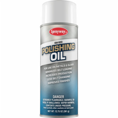 Sprayway 920 Industrial Polishing Oil 12.75 oz