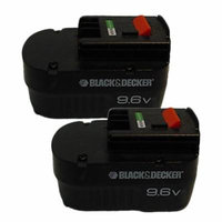 Black and Decker 9.6V HPB96/FSB96 Replacement (2 Pack) Battery # 90534824-2PK