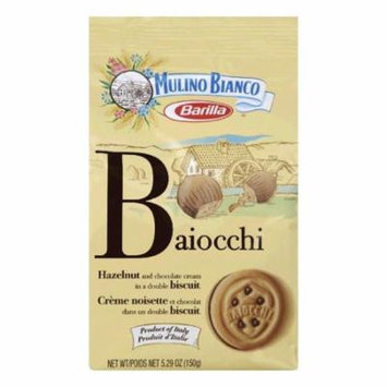 Mulino Bianco Baiocchi Cookie, 5.3 OZ (Pack of 10)