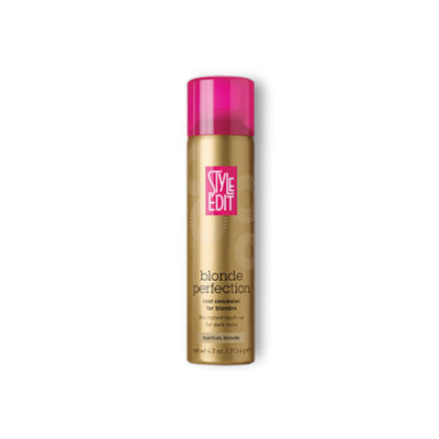 Style Edit Blonde Perfection Root Concealer for Blondes Medium Blonde 4oz.