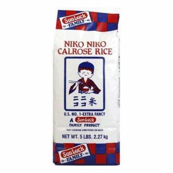 Niko Rice Calrose, 5 LB (Pack of 8)