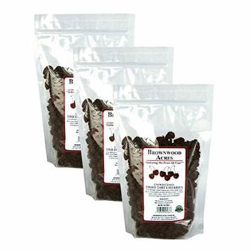 Unsweetened Montmorency Dried Cherries - THREE 1 Pound Bags