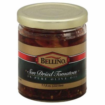 Bellino Sun Dried Tomatoes in Pure Olive Oil, 7.5 Oz (Pack of 12)
