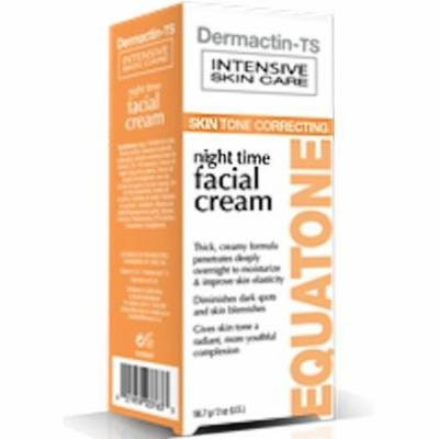 Demactin-TS Intensive Skin Care - Equatone Night Time Facial Cream 2 oz.