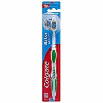 12 Pk Colgate Toothbrush Extra Clean FIRM Hard Bristles #95 1 Each (Colors Vary)