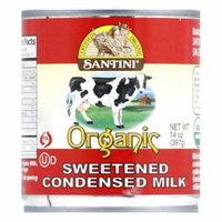 Santini Sweetened Condensed Milk, 14 OZ (Pack of 12)
