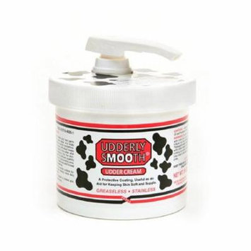 6 Pack Udderly Smooth Body Cream Original Formula Jar Pump 10 Ounce Each