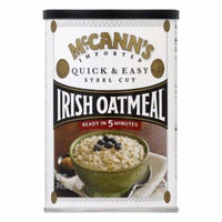 McCann's Quick & Easy Steel Cut Oats Can, 24 OZ (Pack of 12)