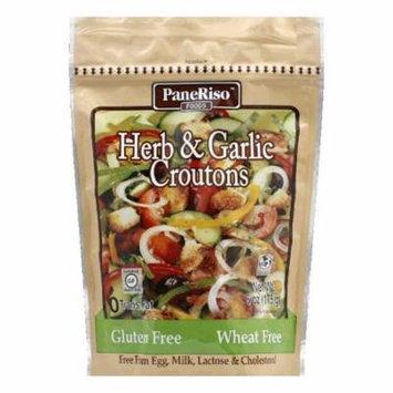 Paneriso Garlic Herb Croutons, 6 OZ (Pack of 6)