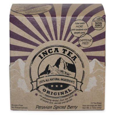 Inca Tea 90-Count Peruvian Spiced Berry Tea Box