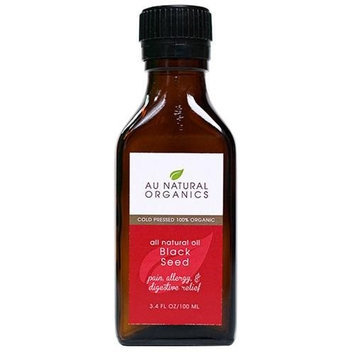 Black Seed Organic Oil - 3.4 fl oz - 100 ml by Au Natural Organics
