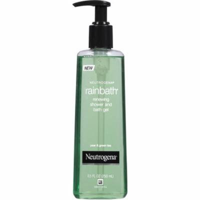 Neutrogena Renewing Shower and Bath Gel Pear & Green Tea Rainbath, 8.5 FL OZ (Pack of 3)
