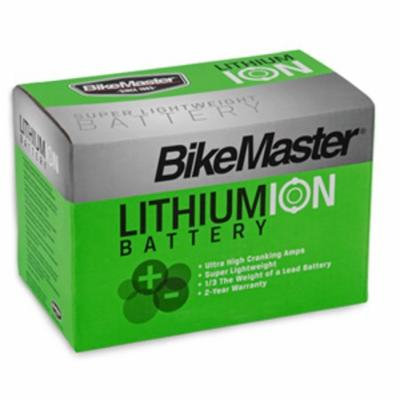 BikeMaster Lithium-Ion Battery 250 Cranking Amps 148L x 87W x 94H