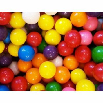 BAYSIDE CANDY NUTRASWEET 16mm or 0.62 inch GUMBALLS, 5LBS
