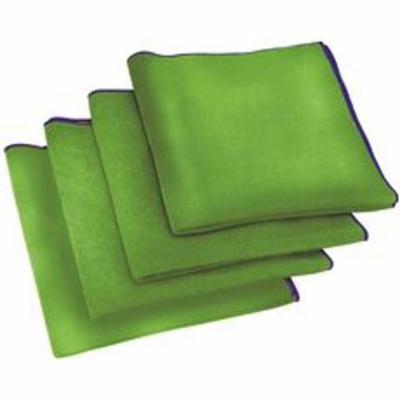 Appeal Antimicrobial Microfiber Cloth, Green, 16X16 In., 24 Cloths Per Box