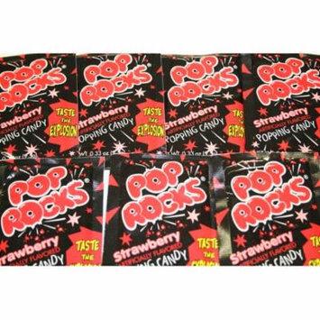 BAYSIDE CANDY POP ROCKS STRAWBERRY, PACK OF 6 POP ROCKS