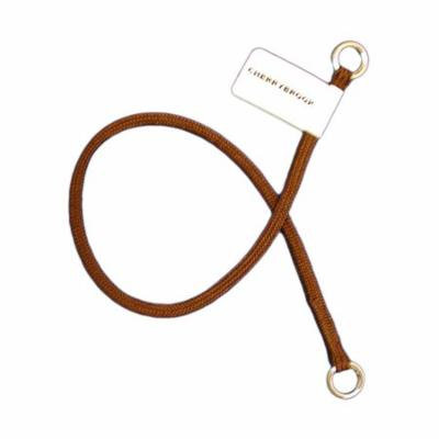 Championship FINE Show Nylon Choke Collar by Cherrybrook (18 inch Brown)