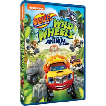 Paramount - Uni Dist Cor Blaze & Monster Machines-Wild Wheels Escape To Animal Island DVD