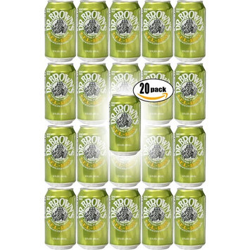 Dr. Brown's Cel-Ray Celray Soda, 12oz Can (Pack of 20, Total of 240 Oz)