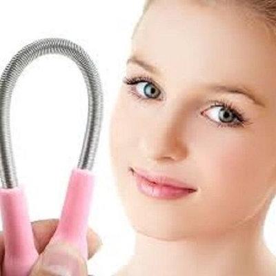 Aquiver Epilator Epistick Face , Facial Hair Remover Spring Threading Tool Removal Epicare