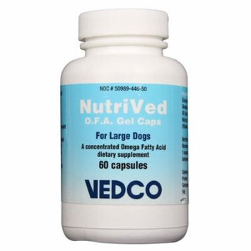 NutriVed OFA Gel Caps for Large Dogs (60 count)