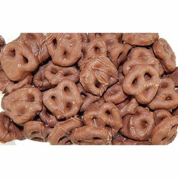 Guittards Chocolate | Milk Chocolate Covered Mini Pretzels | 5 Pound ( 80 OZ ) By Candy Korner