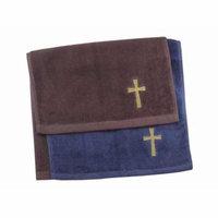 Towel-Pastor-Cross-Burgundy